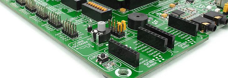 Mikroe EasyMx PRO v7 for Stellaris mikroBUS sockets