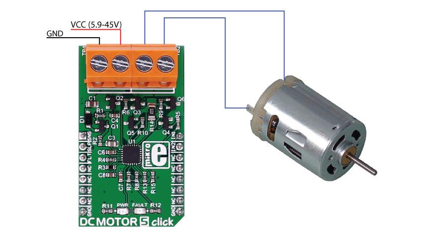 DC motor 5