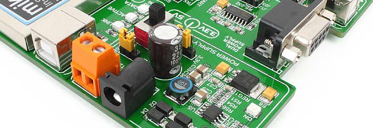 MikroE EasyAVR v7 glcd lcd
