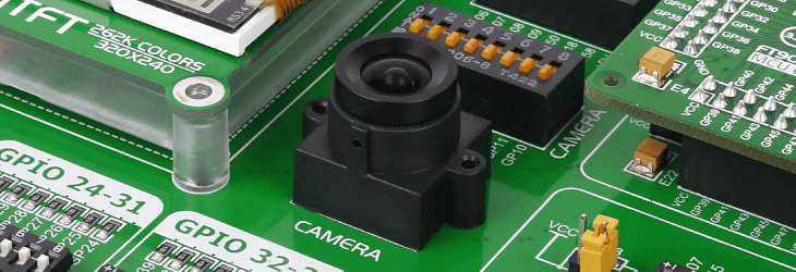 embedded camera