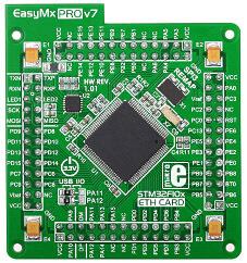 easymxpro v7 stm32 mcu card front