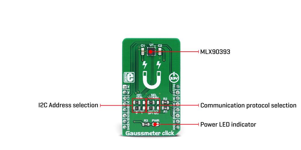 Gaussmeter click