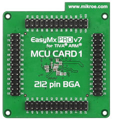 Mikroe EasyMx PRO v7 for Tiva MCU CARD 1 back