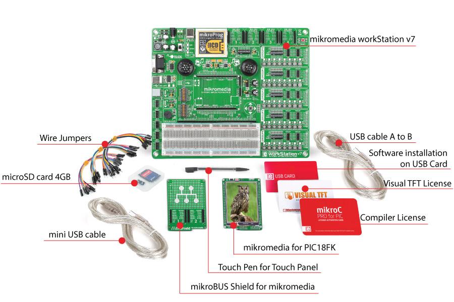 mikromedia mikrolab pic18fk