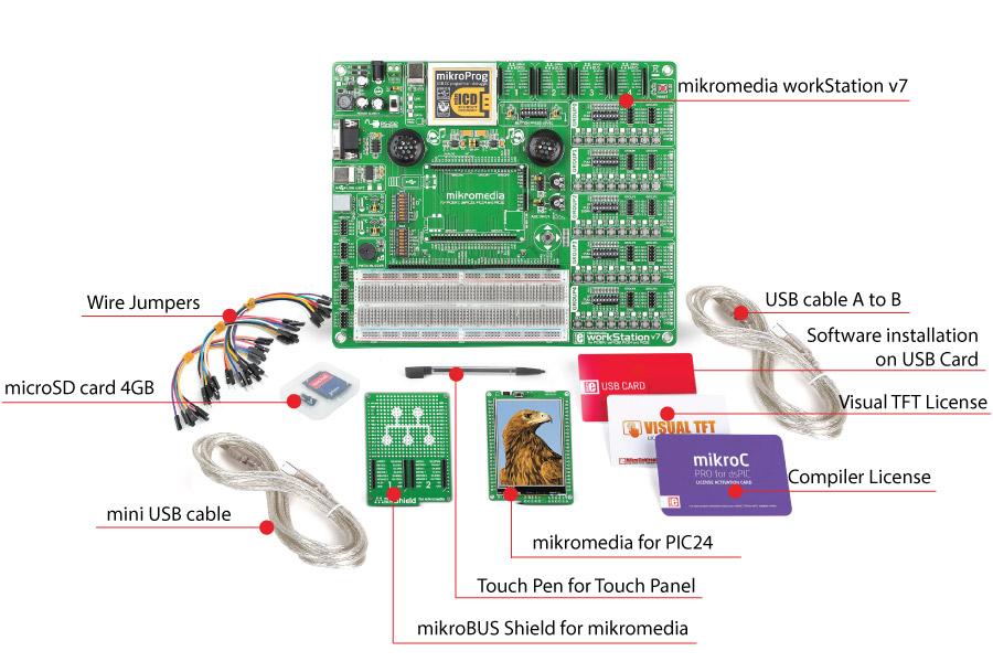 mikromedia mikrolab pic24