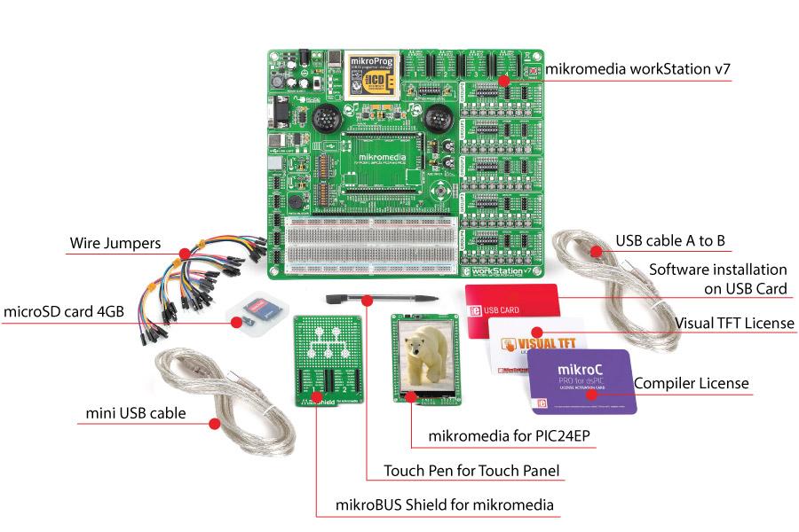 mikromedia mikrolab pic24ep