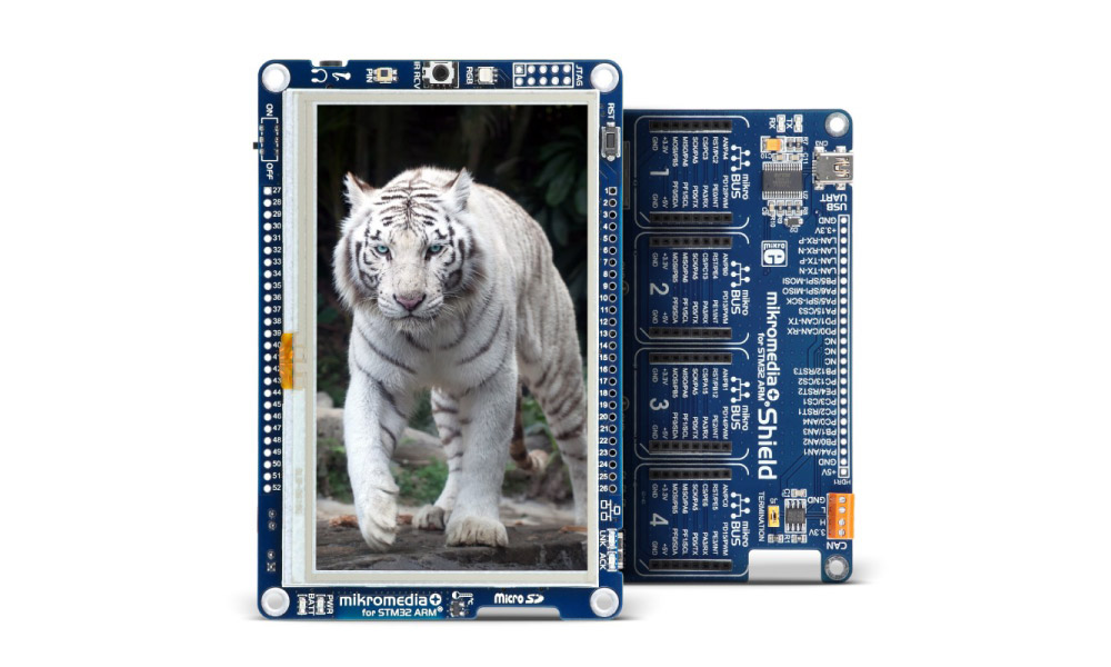 mikromedia Plus for STM32F4