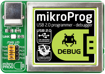 mikroProg™ with debugger on Board