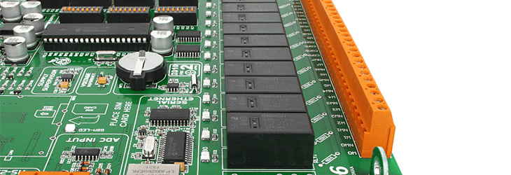 MikroE PICPLC16 v6 relays
