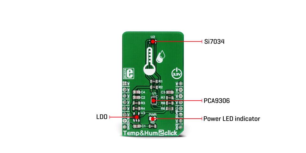 Temphum 2 Click Mikroelektronika