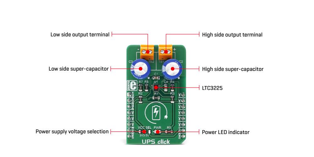 UPS click | MikroElektronika