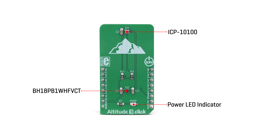 MikroE Sensors Altitude 3 click