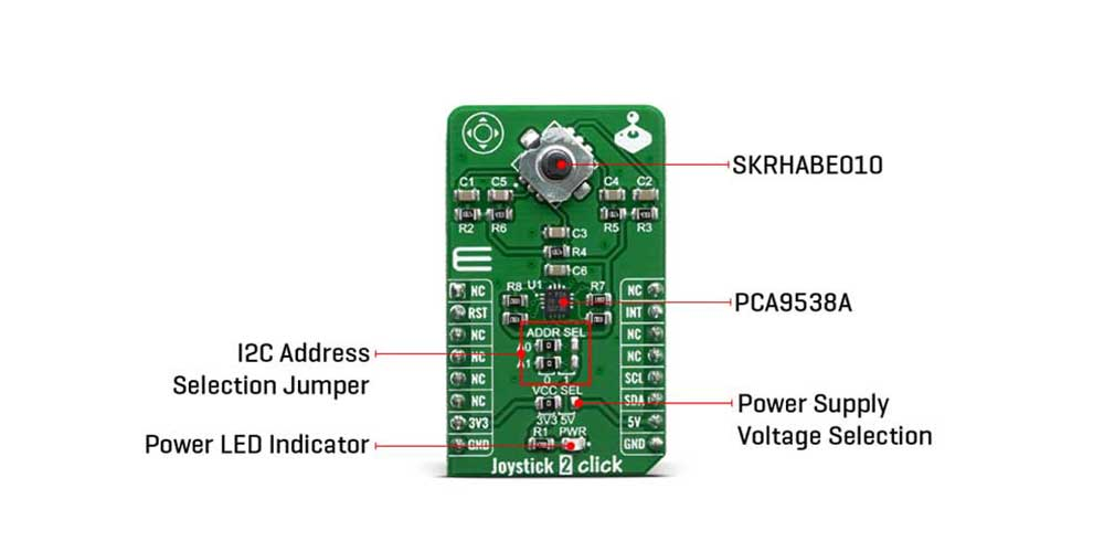 Shop Click Boards HMI Joystick 2 Click