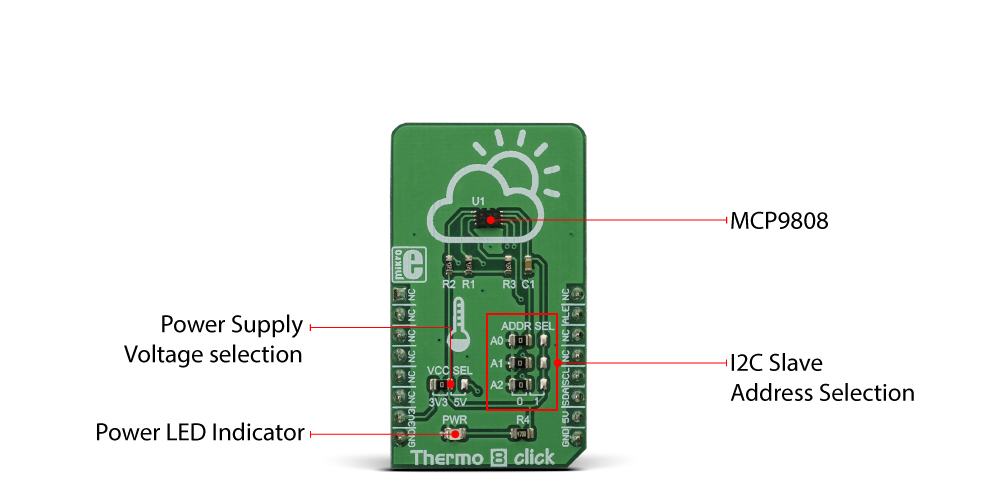 MikroElektronika Thermo 8 Click