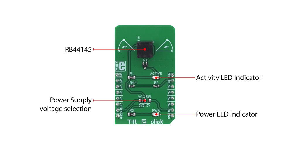 MikroElektronika Tilt 2 Click