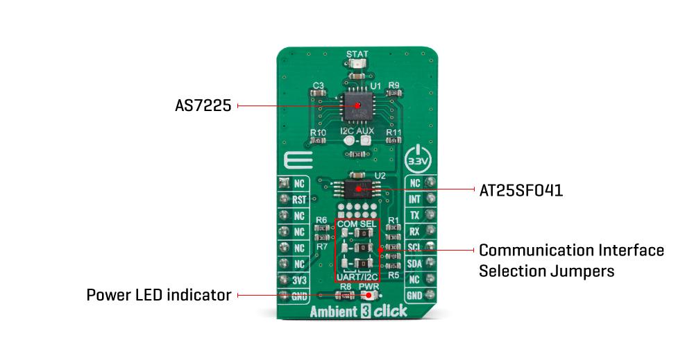 Shop Click Boards Sensors Ambient 3 click