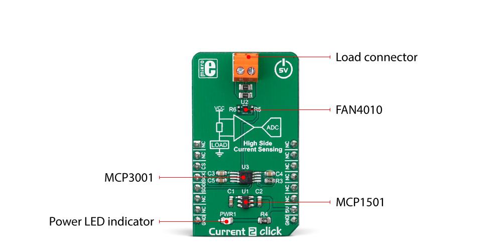 MikroElektronika Current 2 click inner