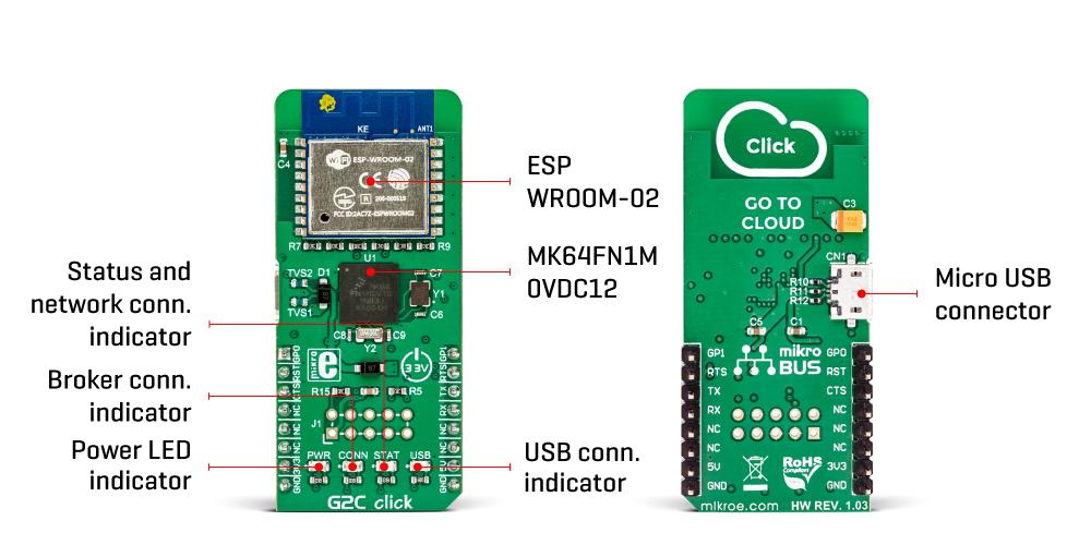 MikroElektronika G2C Click