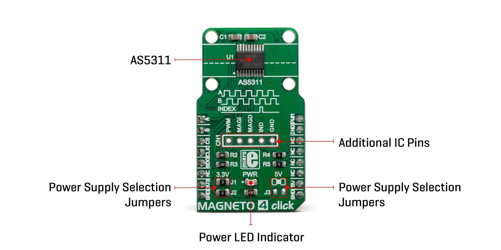 Click Boards Sensors Magneto 4 Click
