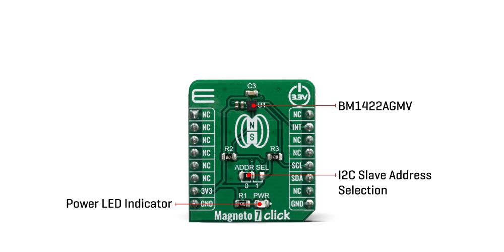 Click Boards Sensors Magneto 7 click