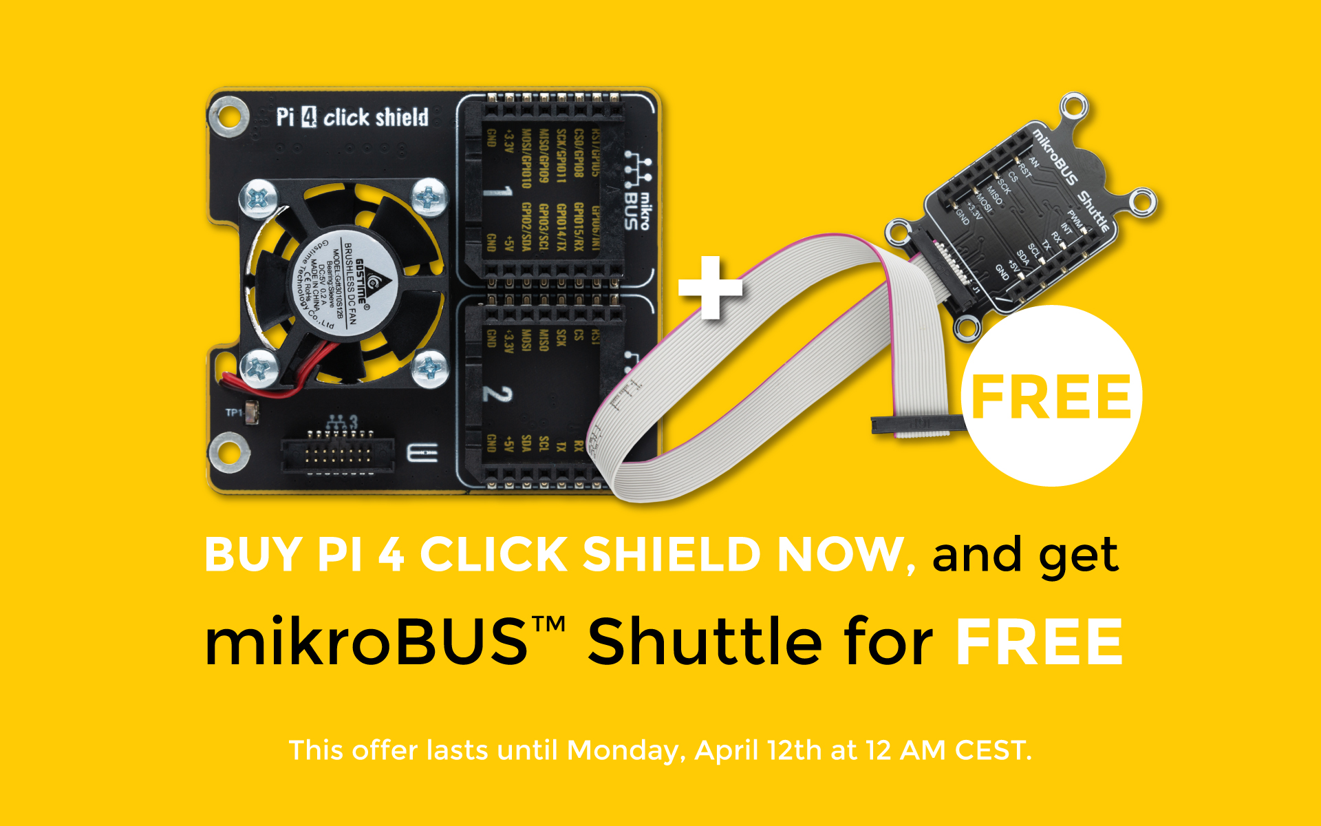 pi-4 click shield offer new