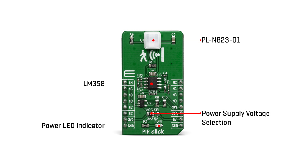 Shop Click Boards Sensors PIR Click