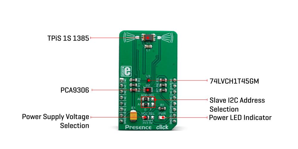 Click Boards Sensors Presence Click