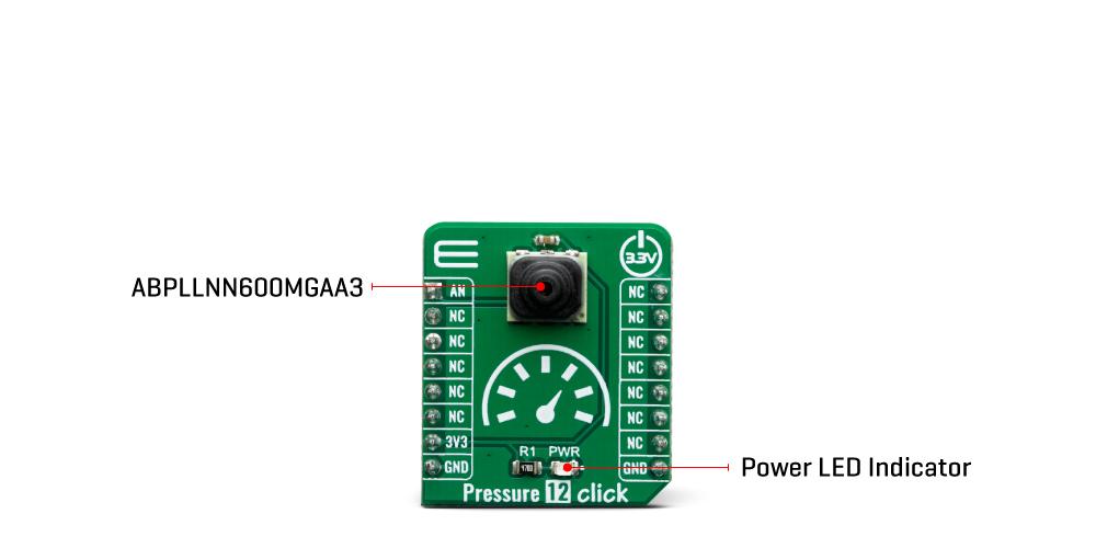 Click boards sensors pressure 12 Click