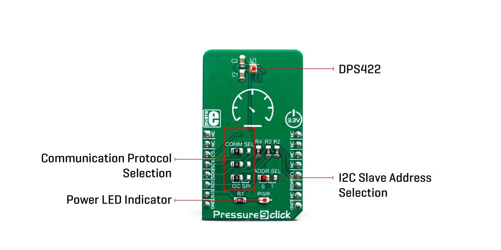 Click Boards Sensors Pressure 9 Click