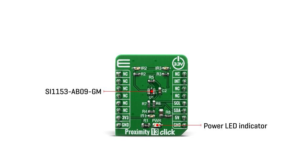 Shop Click Boards Sensors Proximity Proximity 13 Click