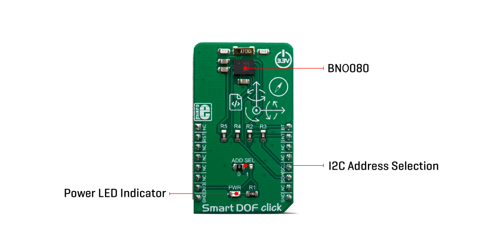 Click Boards Sensors Smart DOF Click