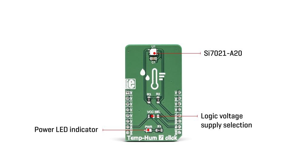 Temp&Hum 7 Click
