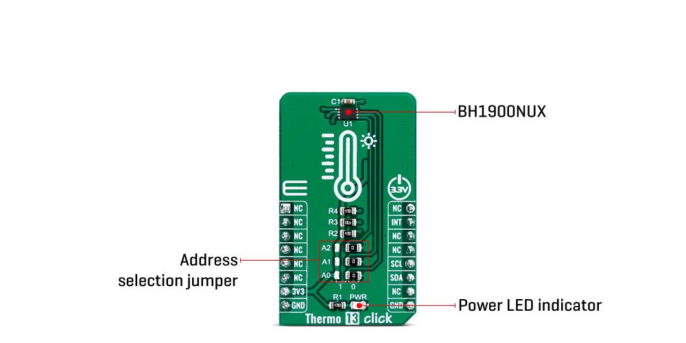 Shop Click Boards Sensors Thermo 13 click inner
