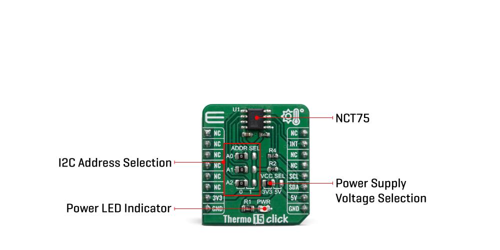 Click Boards Sensors Thermo 15 click