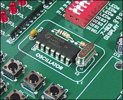 Easy8051A 8MHz Oscillator